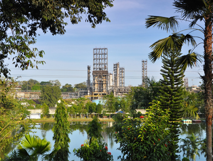 the oldest oil refinery in india is located in