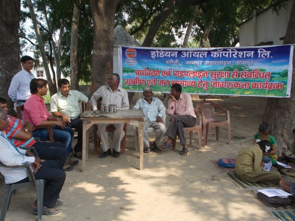 Villagers Awareness Programme was organised at Fatehpur