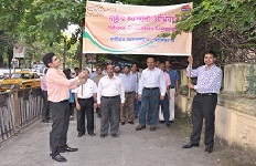 Cleanliness March organised by ERPL Kolkata Office, West Bengal