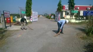 WRPL Hazira conducted week-long 'Swachhta Drive' to improve health and cleanliness