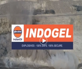 IndianOil's INDOGEL is the market leader in bulk explosives in surface mining