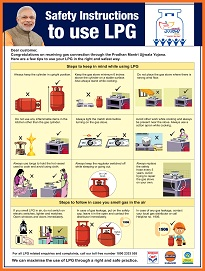 Pmuy Safety Poster Hindi