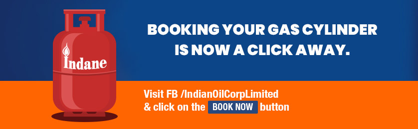 Booking your Gas Cylinder is now a Click Away