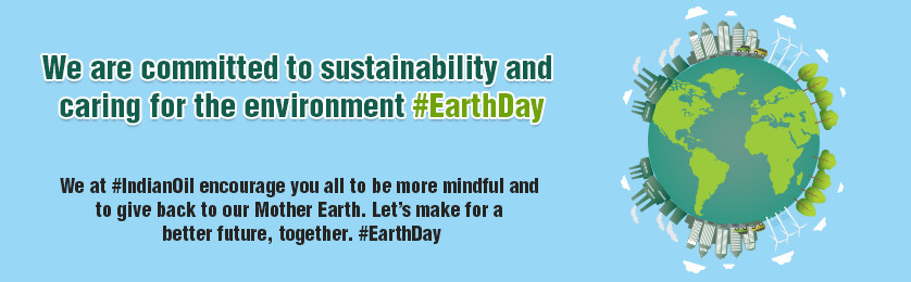 We are committed to sustainability and caring for the environment #EarthDay
