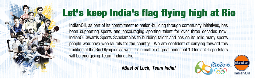 Let's keep India's flag flying high at Rio