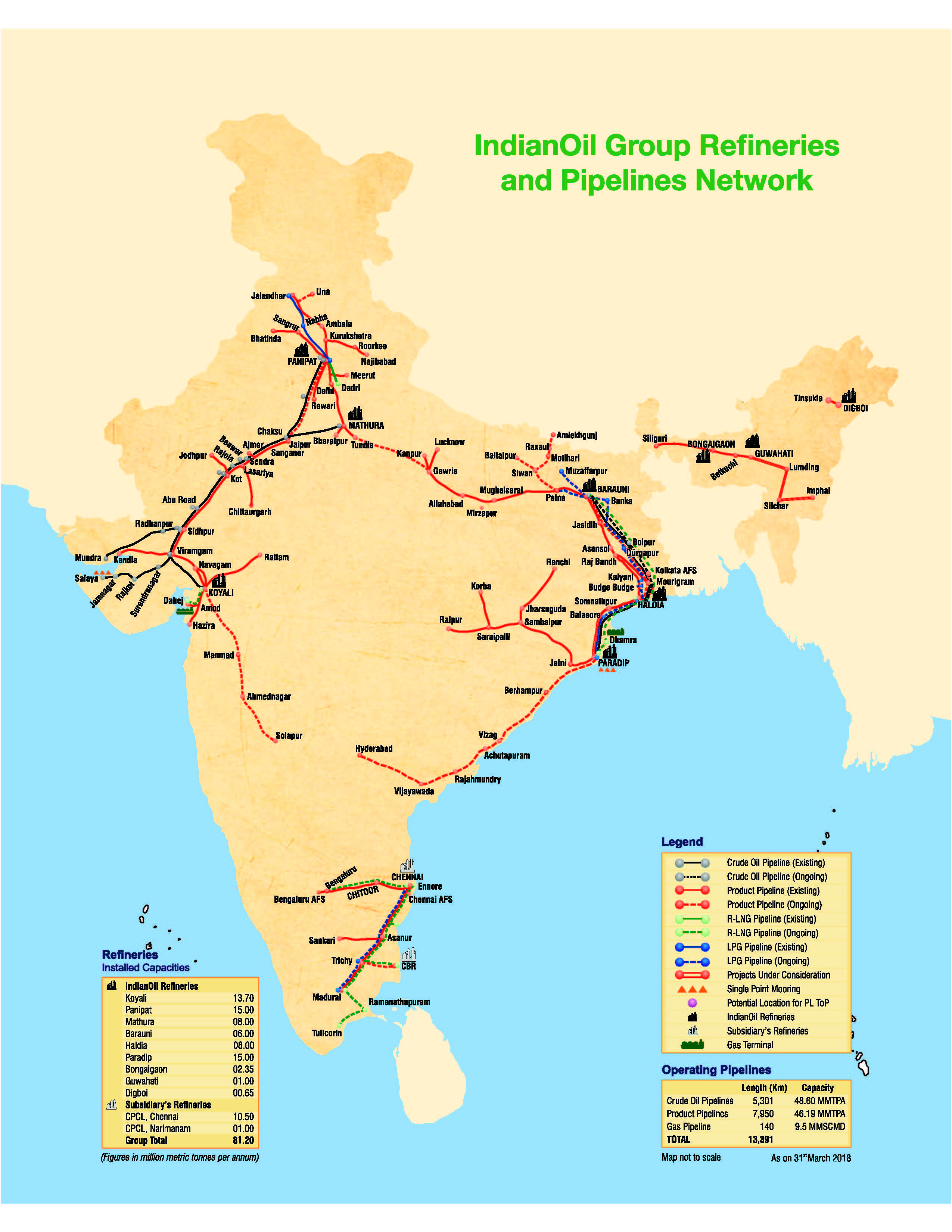 Pipelines oil and gas pipeline gas and oil energy as a pioneer in oil pipelines in the country managing one of the worlds largest oil pipeline networks indianoil achieved the highest ever throughput of sciox Choice Image