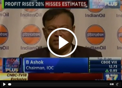 Mr. B. Ashok, Chairman, IndianOil talk about rise in Q3 earnings on CNBC TV18