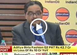 Mr. AK Sharma, Director, Finance, IndianOil, speaks to BTVi on IndianOil's Q2 numbers