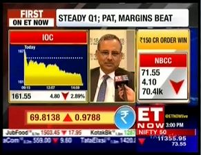 Mr. Sanjiv Singh, Chairman, IndianOil spoke to  ET Now on Q1 results