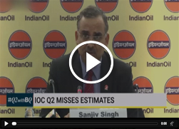 Mr. Sanjiv Singh, Chairman, IndianOil speaks to Bloomberg Quint during the Press Conference
